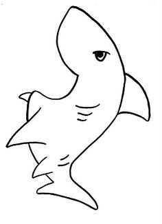 Printable Shark Coloring Pages . 24 Printable Shark Coloring Pages . Free Printable Shark Coloring Pages for Kids Ocean Themes, Beach Themes, Shark Coloring Pages, Mama Shark, Felt Stories, Under The Sea Theme, Ocean Crafts, Shark Party, Preschool Crafts