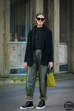 Romilly Mason After Molly Goddard by STYLEDUMONDE Street Style Fashion Photography