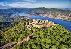Visegrád, Hungary - Europe. Places Around The World, Around The Worlds, Aerial View, Homeland, Budapest, Cool Pictures, Life Hacks, Europe, Travel
