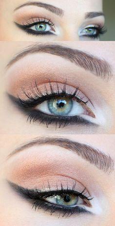 Aprenda a fazer esse delineado super poderoso! #maquiagem #delineado #delineadogatinho #cateye #makeup