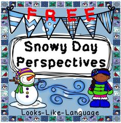 SNOW! Do you love it or hate it? Help your students figure out others' perspectives with this FREE print and go activity!