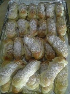 Cookie Desserts, Sweet Desserts, Sweet Recipes, Czech Recipes, Russian Recipes, Bread And Pastries, Pretzel Bites, Scones, Christmas Cookies