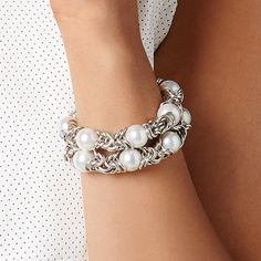 Miglio Jewellery Alchemy Collection Rocker Pearl Bracelets Pearl Bracelets, Pearl Necklace, Necklaces, Designer Jewellery, Jewelry Design, Independent Consultant, Jewellery Making, Alchemy, Silver Jewelry