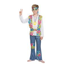 Disfraz de Hippie Niño #disfraces #carnaval #novedades2015