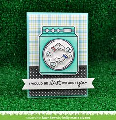the Lawn Fawn blog: Loads of Fun card by Kelly Marie Alvarez.