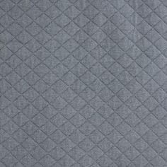 Tissu jersey matelassé France duval orageux x 10cm