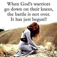 Be a WARRIOR for Jesus Christ! Jesus said for us to pray incessantly and sometimes fasting is required! Christian Life, Christian Quotes, Christian Warrior, Christian Motivation, Faith Quotes, Bible Quotes, Qoutes, True Quotes, Prayer Warrior