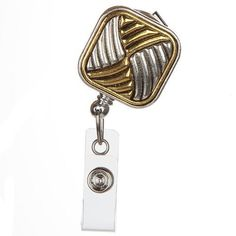 Georgette Badge Reel