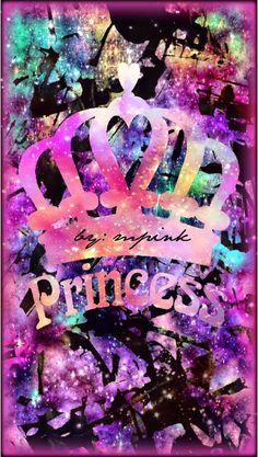 © 2016 Princess Hipster Galaxy iPhone/Android wallpaper