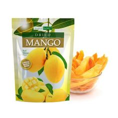 NO ARTIFICIAL COLOURS OR FLAVOURS SUITABLE FOR VEGETARIANS MADE WITH REAL MANGO PIECES Dried Mangoes, Dried Fruit, Serving Size, Preserves, Protein, Seeds, Tropical, Vegetarian