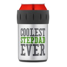 Great Father's Day gift idea - Coolest Stepdad Ever Thermos Can Cooler