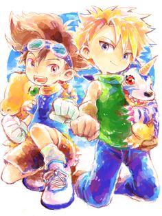 Taichi and Yamato :)