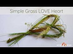 This simple grass heart craft is sure to make any nature lover squeal with delight. It's so easy and the materials are just a walk outside!