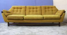 Vtg Sofa Space Age Mid Century Modern Geometric Pearsall Danish Mad Men Retro | eBay