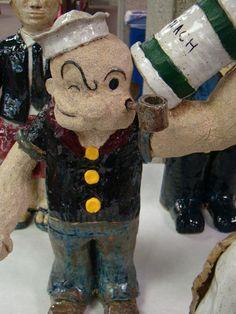 Popeye, Warrior for Robin Williams, by Sam Masek