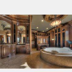 Master Bathroom Huge comment bien décorer son chalet | house, cabin and wood stone
