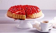 Obsttorte mit Erdbeeren Rezept   Dr. Oetker