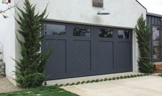 Our doors are unique one of a kind custom wood garage doors, designed to create the charm of yesteryear.