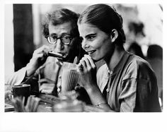 "Woody Allen y Mariel Hemingway en ""Manhattan"" (1979)."