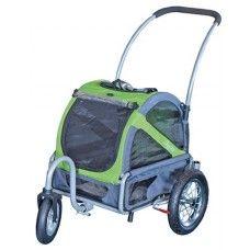 Doggy ride buggy mini groen/grijs | Voordeliger bij PetPoint!