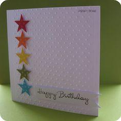 Rainbow card, SU Happiest Birthday Wishes