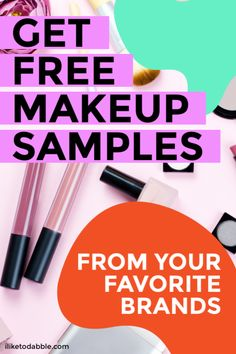How to get free makeup samples and where to find them Free Beauty Samples, Free Samples By Mail, Free Makeup Samples, Stuff For Free, Free Stuff By Mail, School Beauty Essentials, Makeup Essentials, Free Books By Mail, Freebies By Mail
