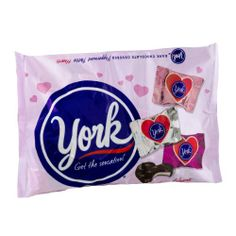 York Peppermint Pattie Hearts--This is an affordable Valentine's Day gift for a York Peppermint Pattie fan.