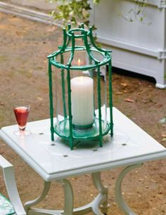 Tropical Bamboo Lantern, for a beautiful life outdoors.