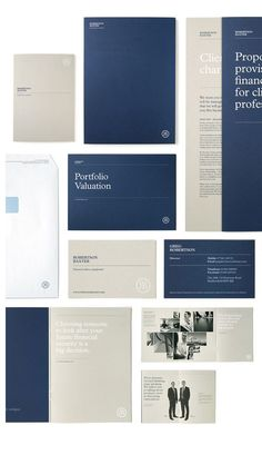 Financial Print Collateral – Beautiful & Well Executed Print Designs via From Up… – corporate branding identity Corporate Branding, Stationary Branding, Corporate Brochure Design, Stationary Design, Brochure Layout, Brochure Template, Corporate Stationary, Marketing Branding, Branding Ideas