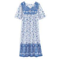 Blue Rhapsody Lounge Dress