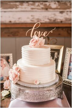 wedding cake barn reception blush richmond wedding at cannon memorial chapel on university of richmond and vintager inn in new kent virginia wedding photographer