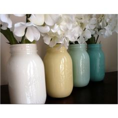 cute painted jars