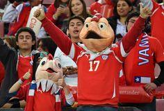Condorito y Cone . Copa America Chile 24.6.15 Uruguay vs Chile