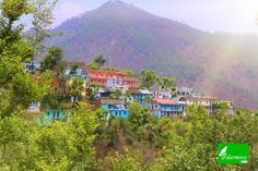 Beautiful village darmwari in uttrakhand. India.