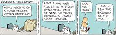 Dogbert's tech support