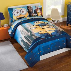 Dreamworks Minions 5-Piece Bed in a Bag with Sheet Set