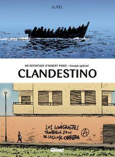 Rencontre avec Aurel pour Clandestino, du dessin politique au reportage dessiné - http://www.ligneclaire.info/hubert-paris-envoye-special-12753.html