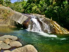 Cachoeira do Escorrega - Poções e Cachoeiras de Visconde de Mauá - Desviantes