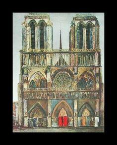 Mauricio Utrillo, Notre Dame. Musee de l'Orangerie