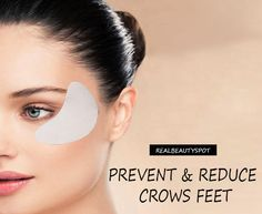 How to Prevent and reduce Crows Feet naturally - ♥ Real Beauty Spot ♥