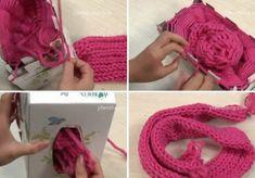 Si no eres muy hábil a la hora de tejer, como es mi caso. Este DIY te va a gustar mucho. Vas a aprender a hacer una bufanda con ayuda de una caja. Necesitas