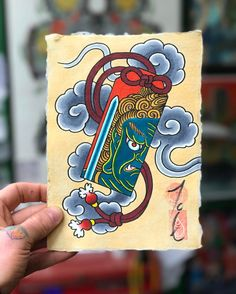 Painting 61 after a busy day. Japanese Artwork, Japanese Tattoo Art, Japanese Tattoo Designs, Japanese Painting, Mini Tattoos, Cute Tattoos, Body Art Tattoos, Hannya Tattoo, Traditional Japanese Tattoos