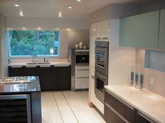 Modern kitchen project in Seattle.  www.poggenpohl.com