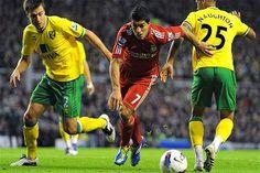 Pertandingan Liga Primer Inggris untuk kali ini akan mempertemukan Liverpool vs Norwich City yang akan digelar Pada hari Kamis (05/12/2013) Berlangsung di Anfield – Liverpool, Inggris dan akan disiarkan LIVE di Bein Sports 1 Pukul 02:40 WIB.