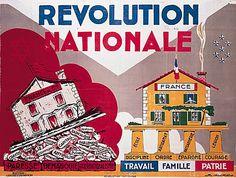 Affiche de propagande pour le régime de Vichy
