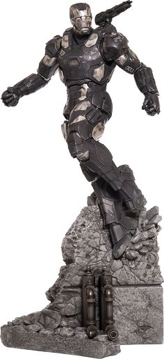 War Machine Polystone Statue