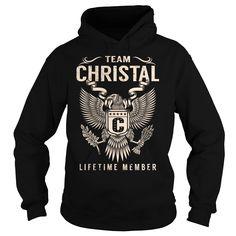 Team CHRISTAL Lifetime Member 【ᗑ】 - Last Name, Surname T-ShirtTeam CHRISTAL Lifetime Member. CHRISTAL Last Name, Surname T-ShirtCHRISTAL