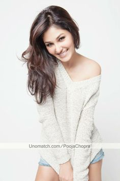 Pooja Chopra is an Indian model and bollywood film actress. In 2009, she was crowned as the Femina Miss India.
