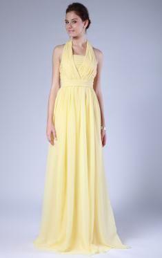 Pale yellow dresses uk