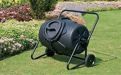 KoolScapes Wheeled Tumbling Composter 50Gallon * Learn more by visiting the image link.